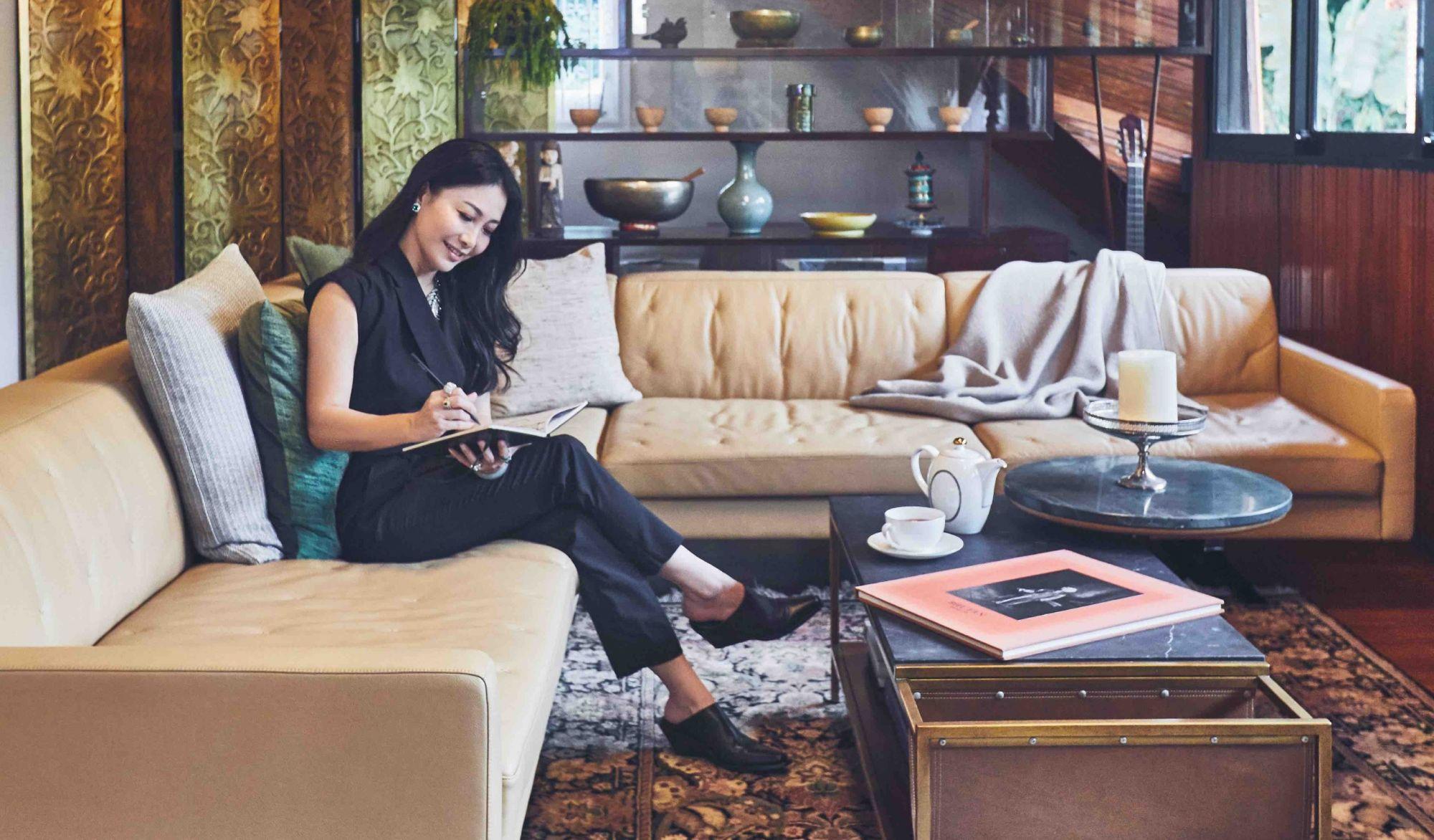 Home Tour: Explore Fashion Designer Elyn Wong's Classic, Vintage-Influenced Abode