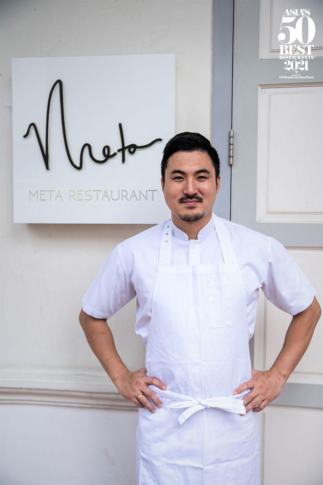 Meta's chef Sun Kim