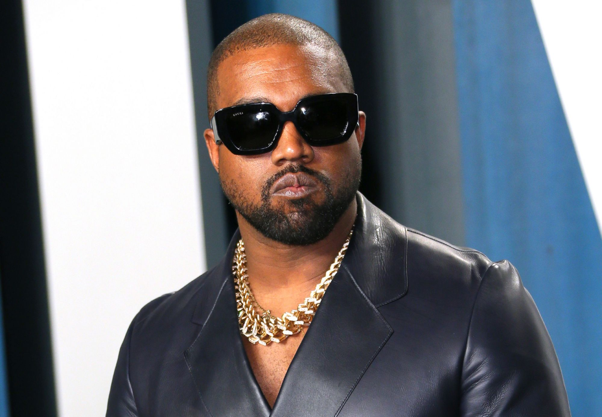 (FILES) In this file photo taken on February 9, 2020 Kanye West attends the 2020 Vanity Fair Oscar Party following the 92nd annual Oscars at The Wallis Annenberg Center for the Performing Arts in Beverly Hills. - US rapper and apparent presidential candidate Kanye West has in the past opened up about his struggles with bipolar disorder. But his recent erratic behavior has again called into question his health and treatment. He launched his election campaign on July 19, 2020 with a rambling speech that saw h