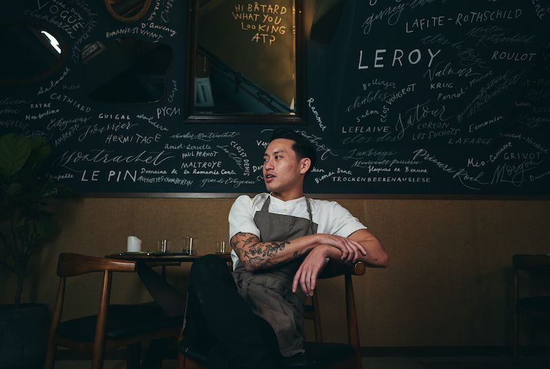 Singapore chef Aven Lau of Hong Kong's restaurant Bâtard