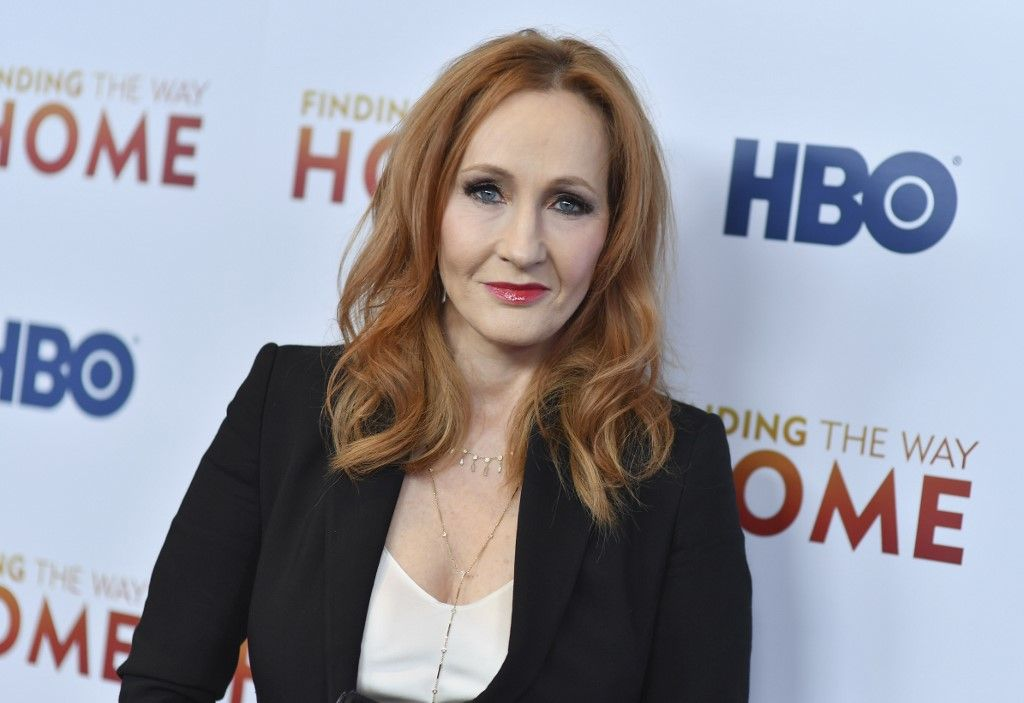 """British author J. K. Rowling attends HBO's """"Finding The Way"""" world premiere at Hudson Yards on December 11, 2019 in New York City. (Photo by Angela Weiss / AFP)"""