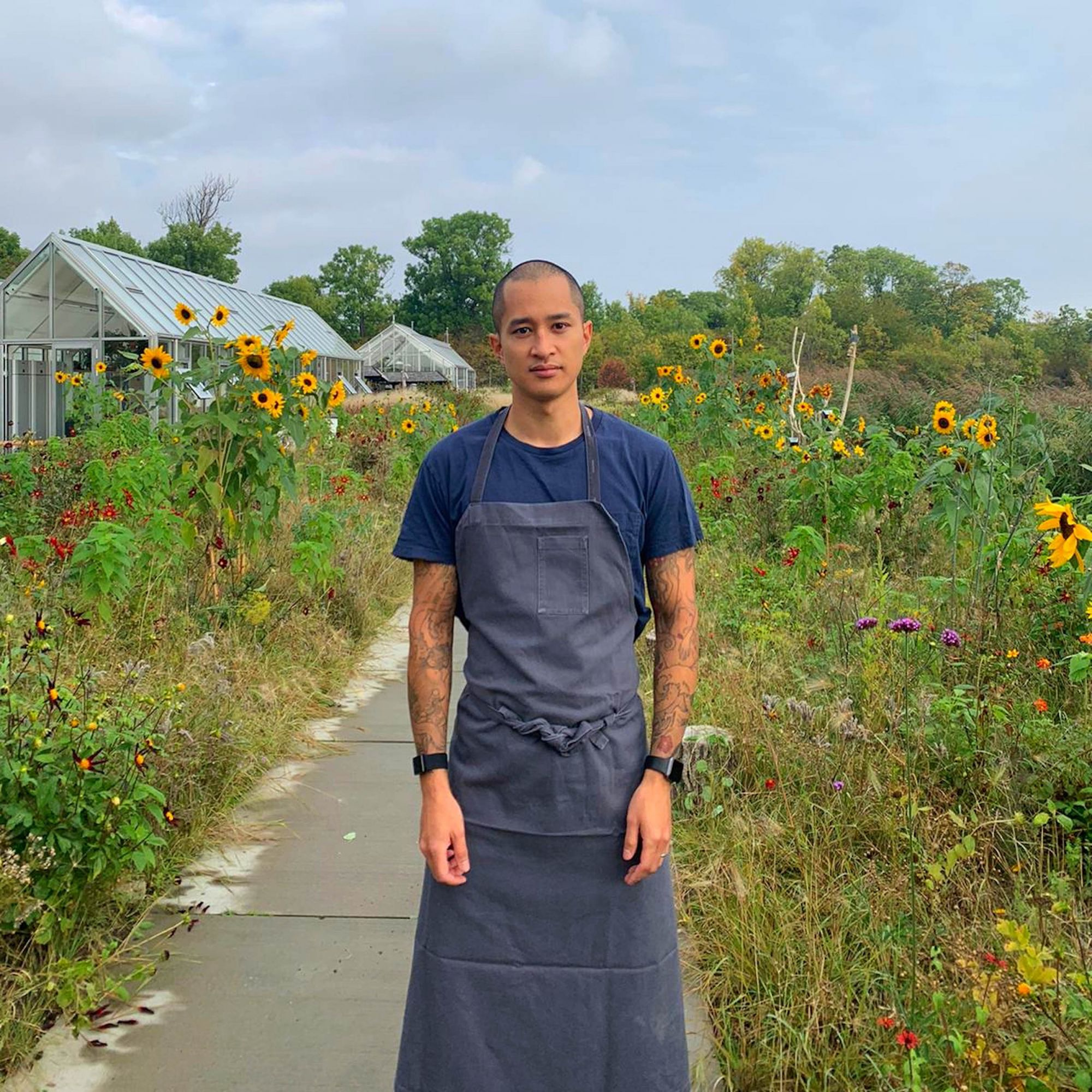 Noma's head chef, Kenneth Foong