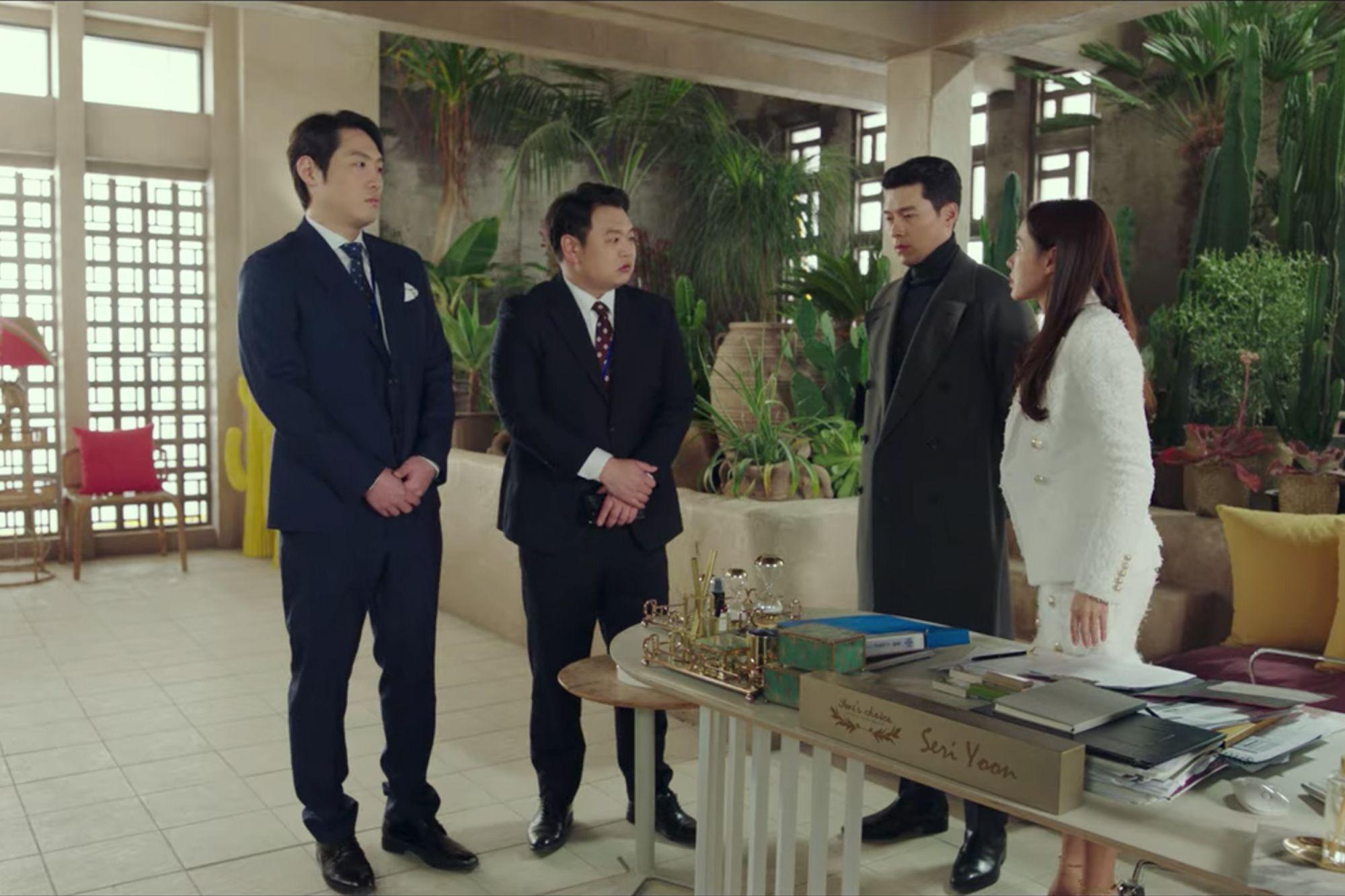 Yoon Se-ri's office in Crash Landing on You (Image: Netflix)
