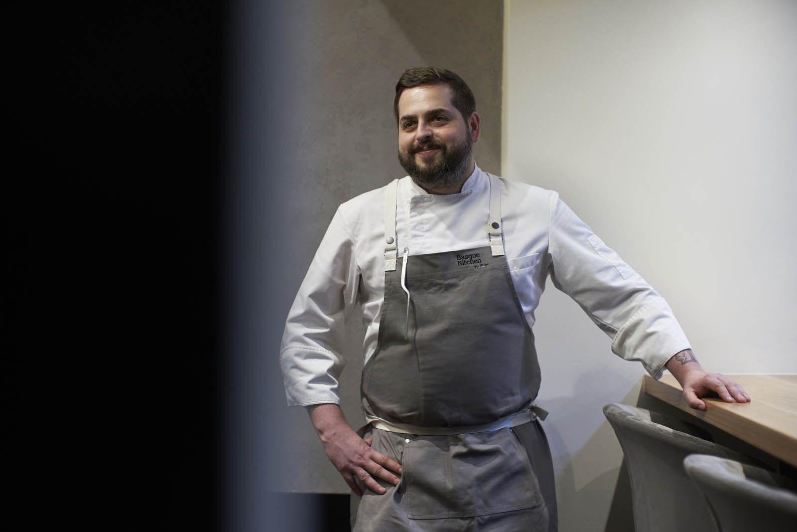 Chef-patron Aitor Jeronimo Orive