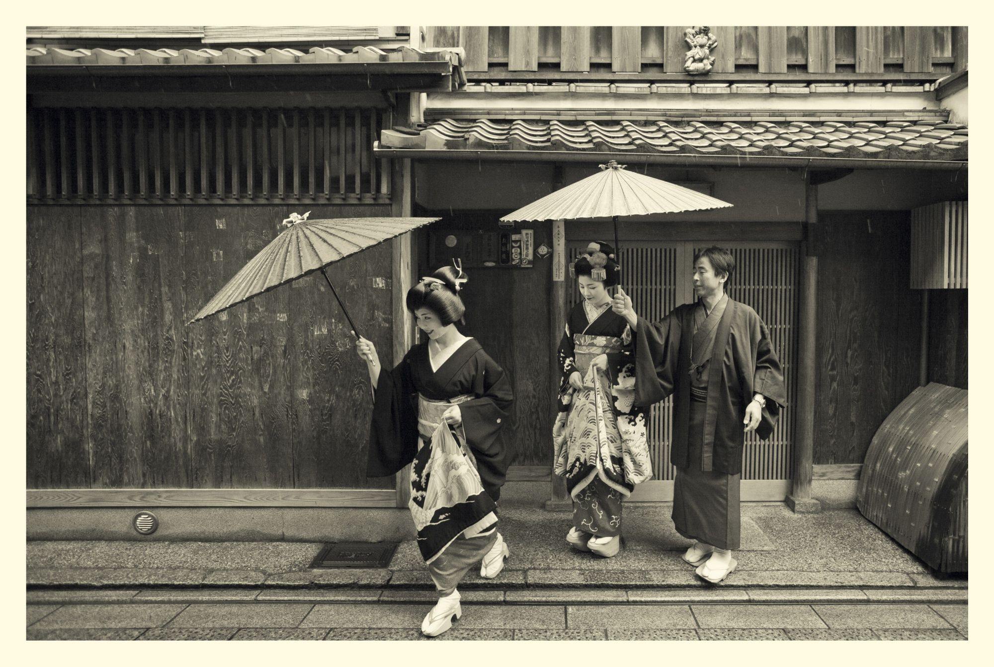 Singaporean Photographer Russel Wong Gets Insider Access into the Private World of Geishas in Kyoto