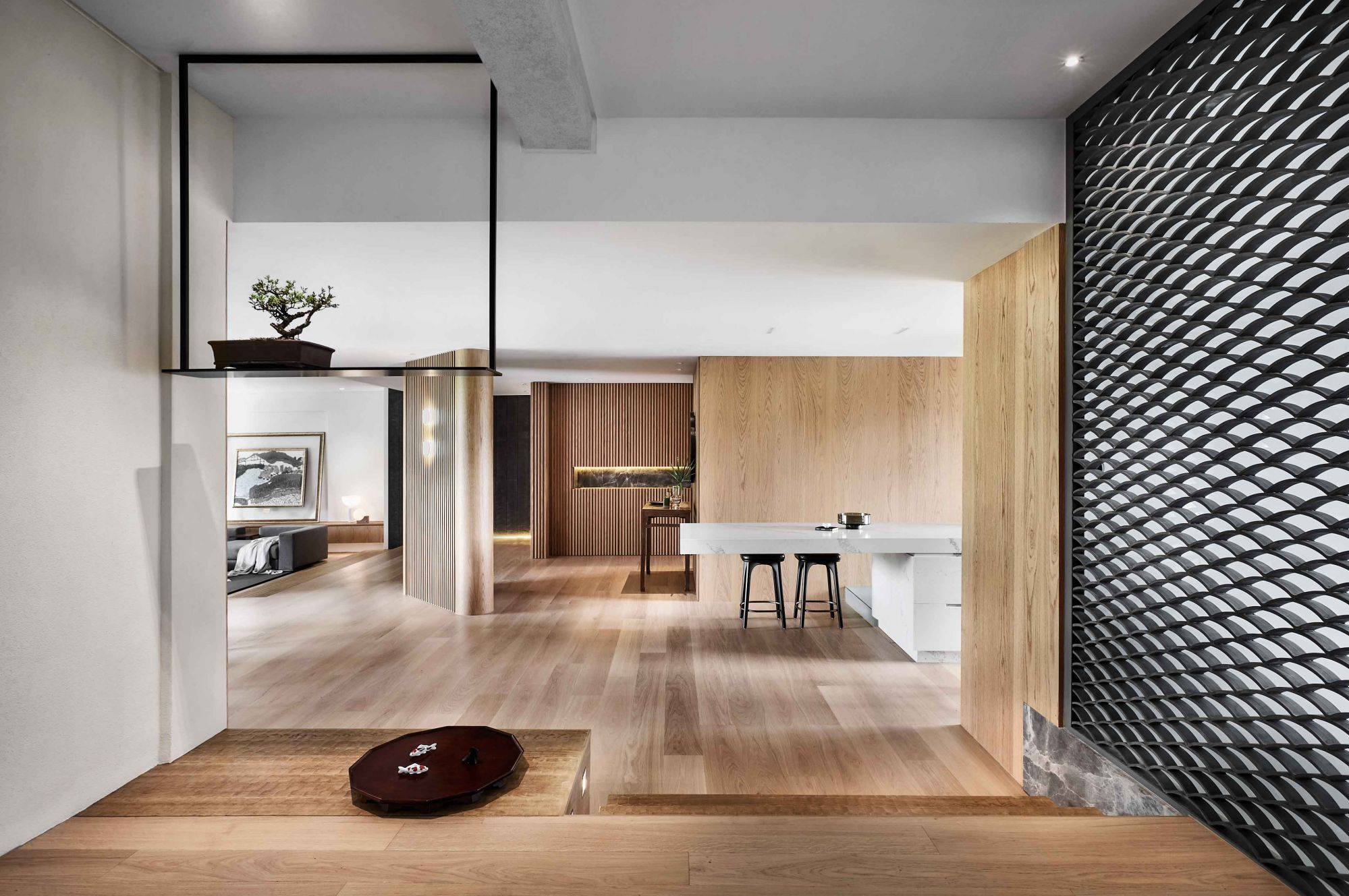 The Ryokan Modern, a home designed by Upstairs_