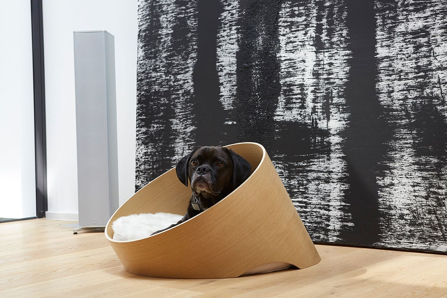MiaCara Covo Dog Bed by Uta Cossmann, available from Danish Design Co