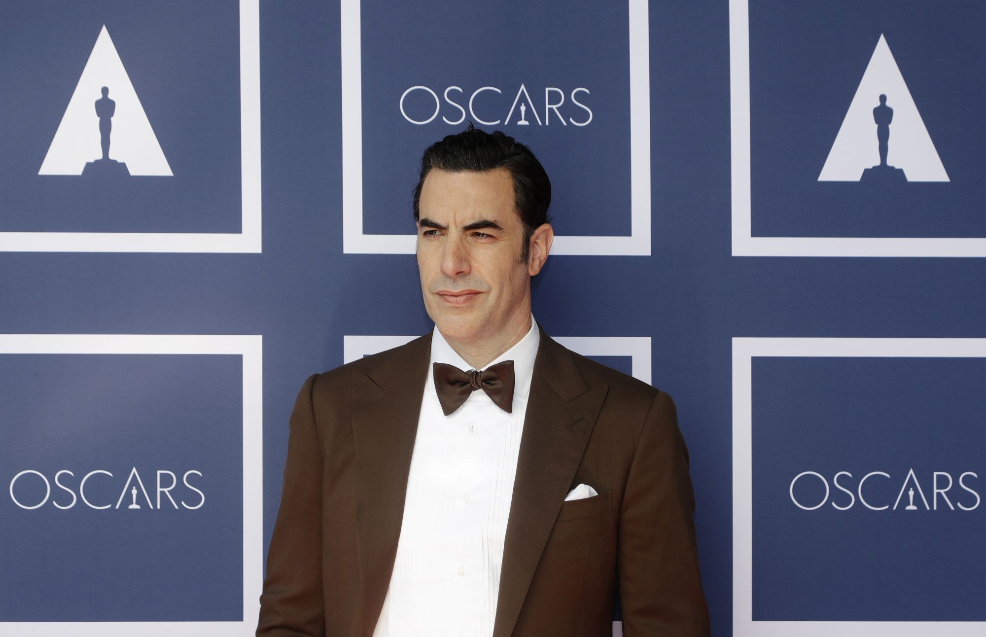 SYDNEY, AUSTRALIA – APRIL 26: Sacha Baron Cohen attends a screening of the Oscars on April 26, 2021 in Sydney, Australia. (Photo by Rick Rycroft-Pool/Getty Images)