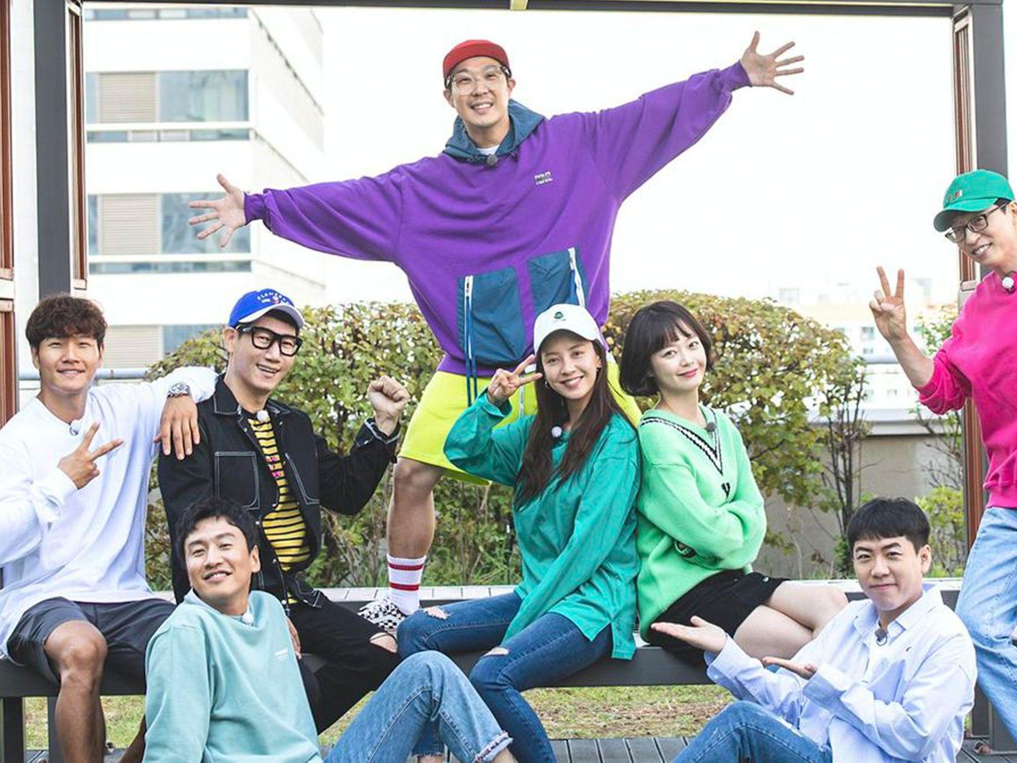 Running Man is Korea's hit variety show (Image: Running Man)