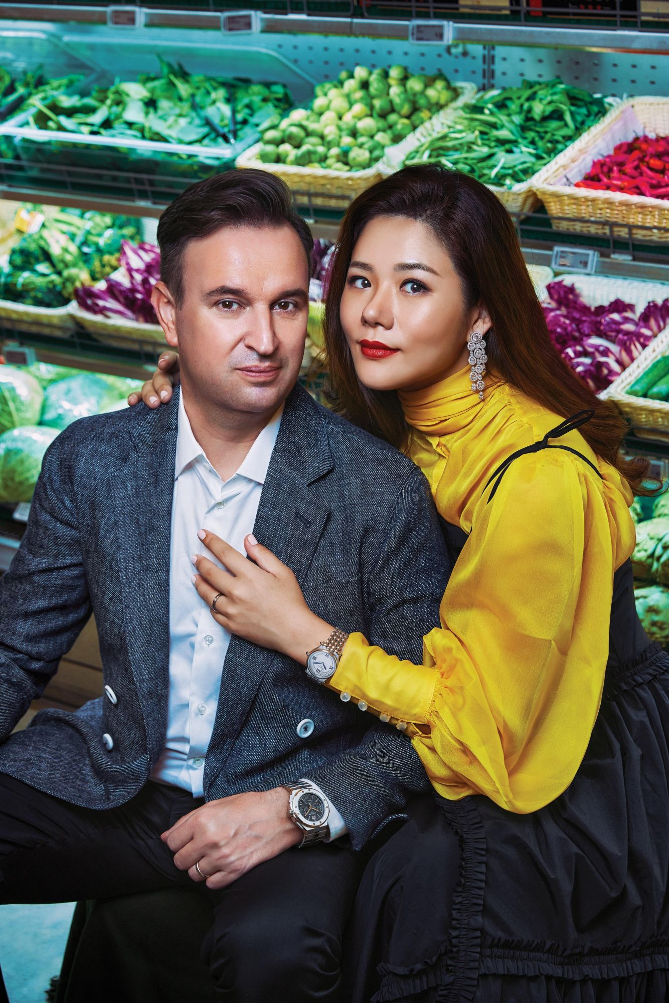 Meet Singapore's Culinary Power Couple: Les Amis Executive Chef Sebastien Lepinoy and Olivia Lee
