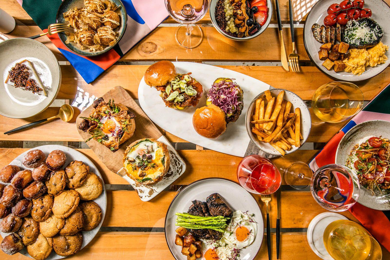 Siri House brunch feast