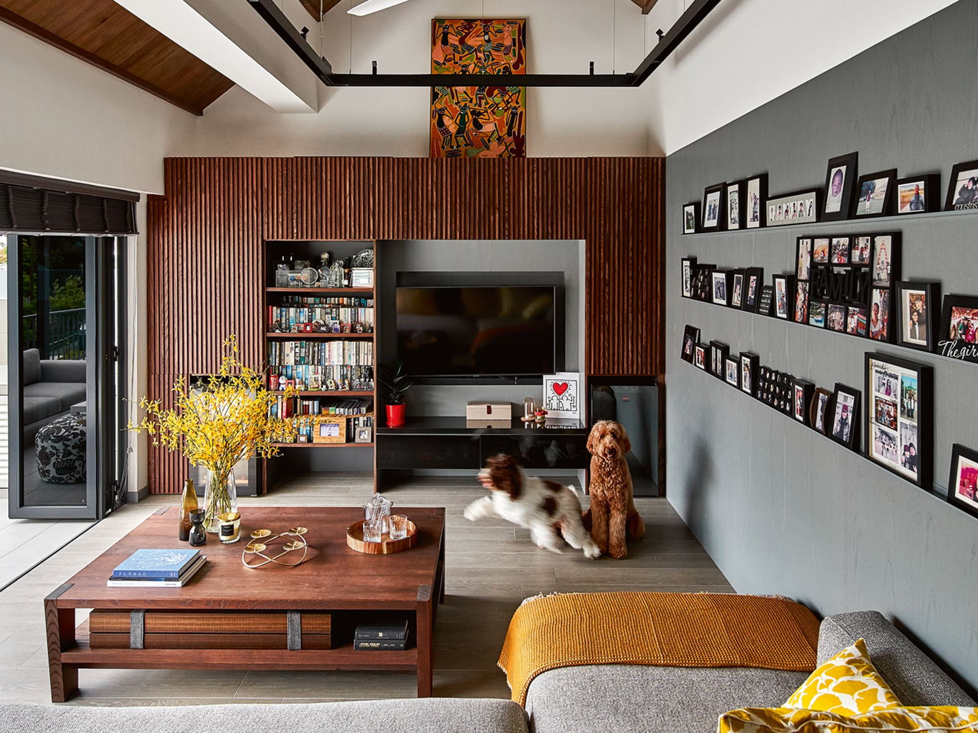 Home Tour: A Family's Dog-Friendly Semi Detached House
