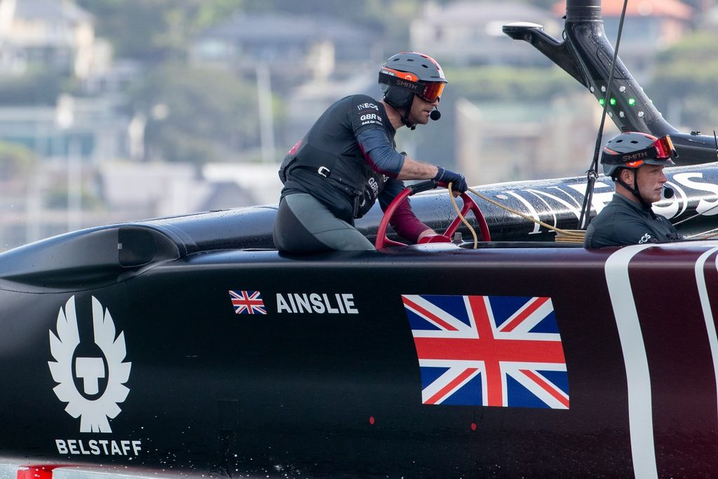 Rolex Testimonee and most successful Olympic sailor of all time, Sir Ben Ainslie, leads the Great Britain SailGP team in Season 2  (Photo: Rolex)