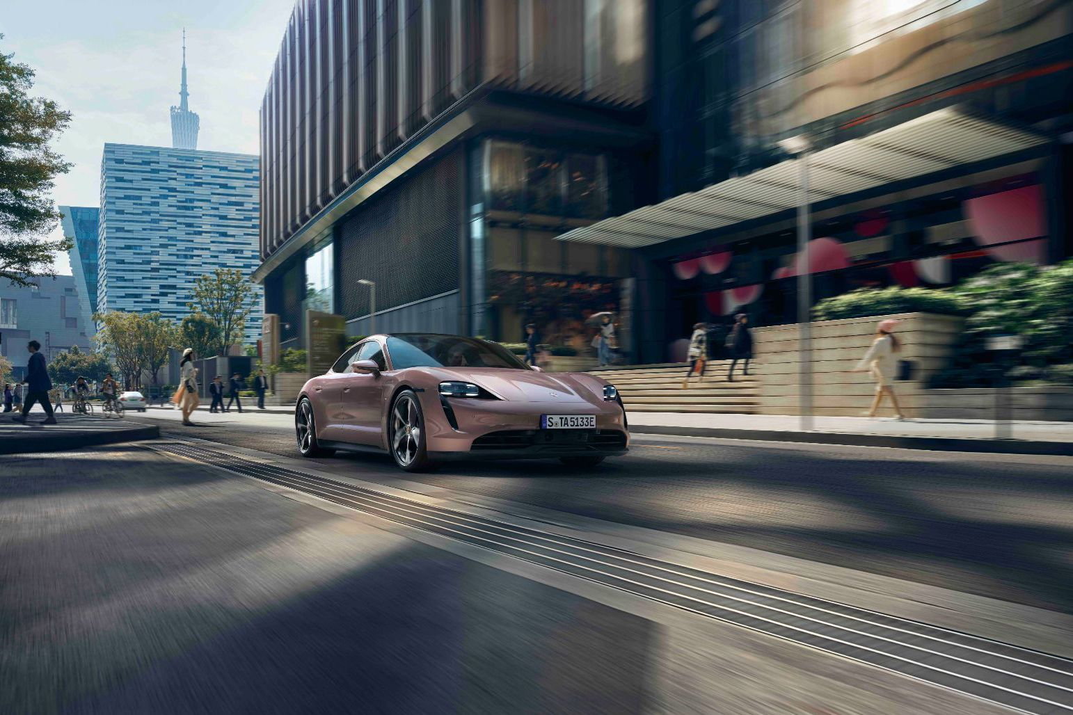 The Porsche Taycan Family Welcomes its All-Electric Rear-Wheel Drive Member