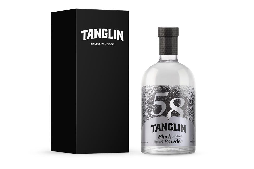 Tanglin Black Powder Gin
