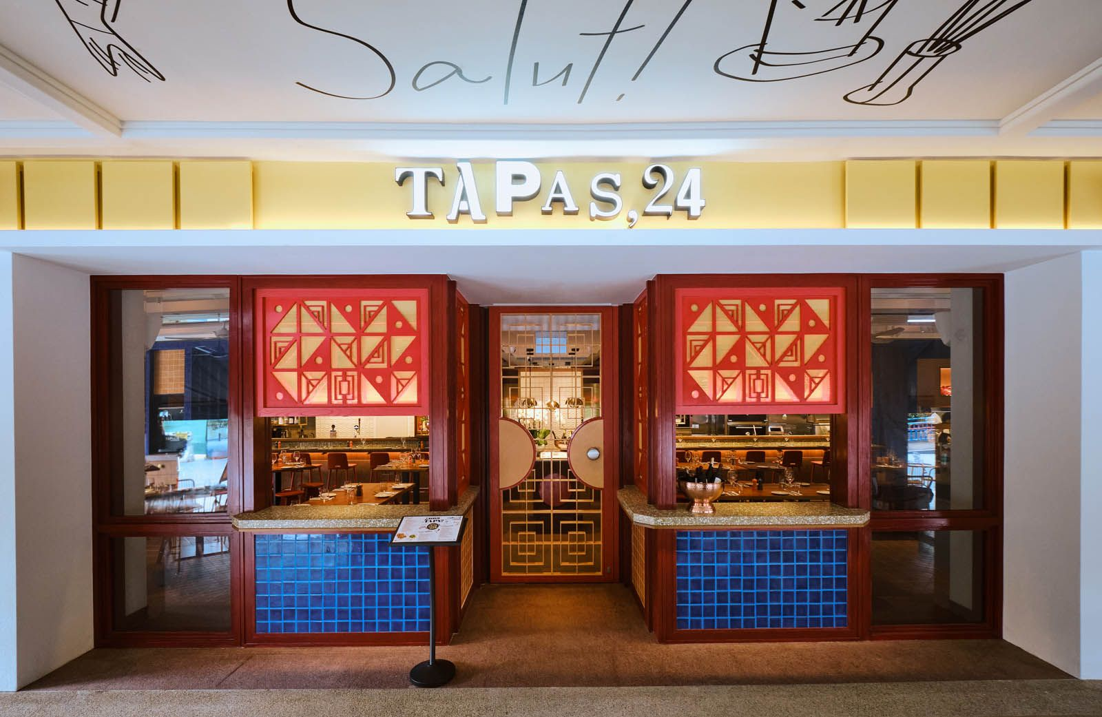 Tapas 24 is the newest restaurant in the buzzy Robertson Quay district