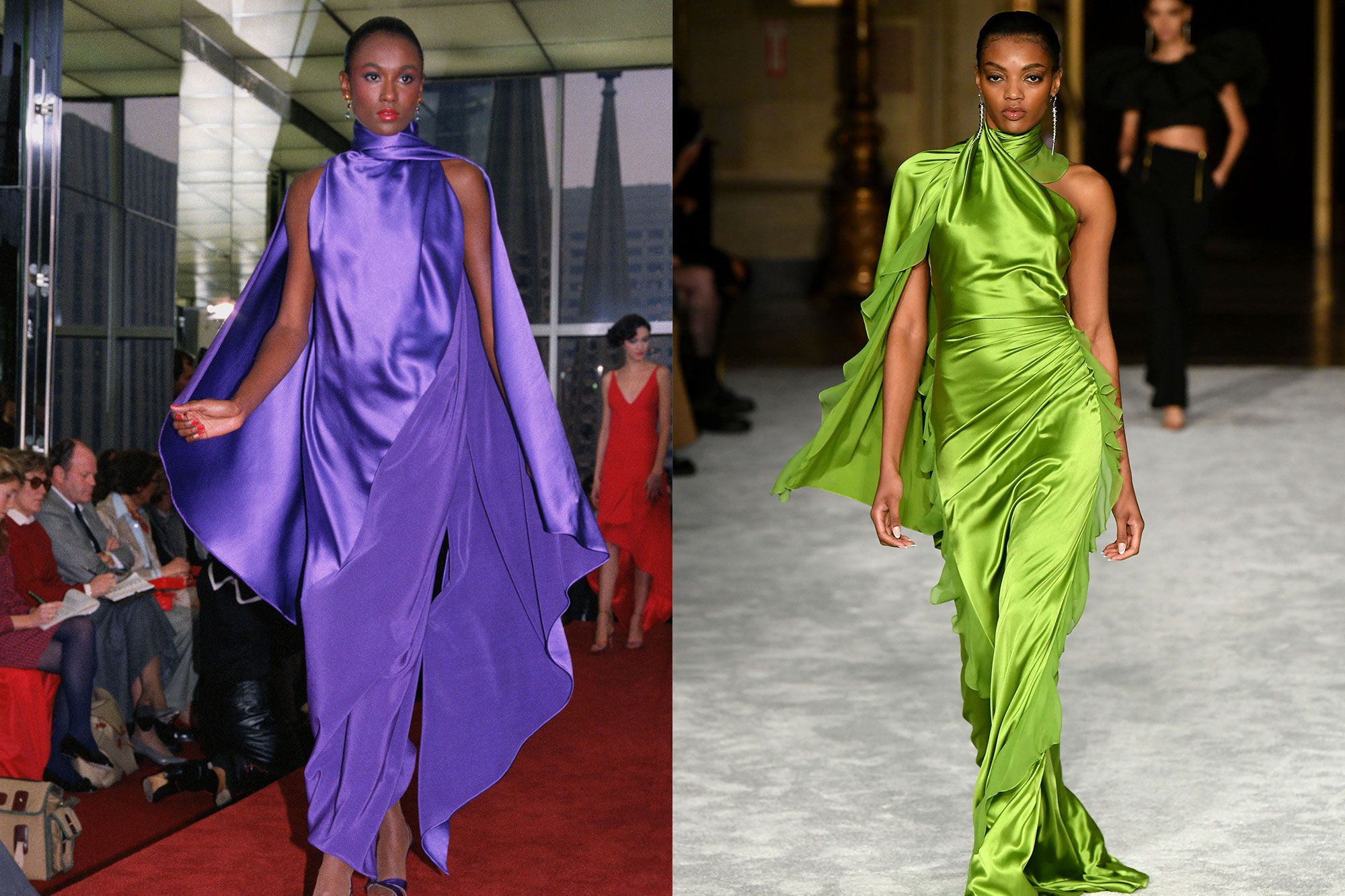 Halston: 7 Times The Designer's Influence Was Seen On The Fall-Winter 2021 Runways