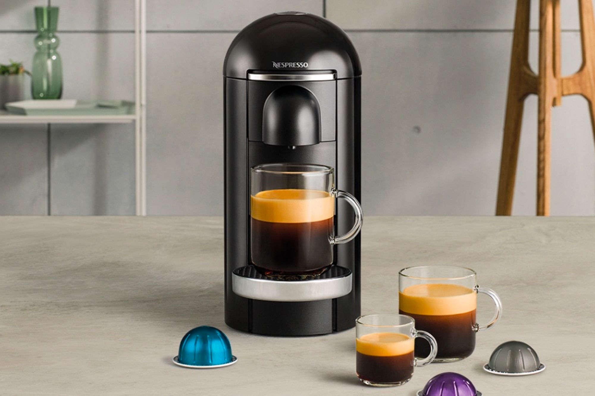 Nespresso's Vertuo machine is the latest addition to its acclaimed line-up Image: Nespresso