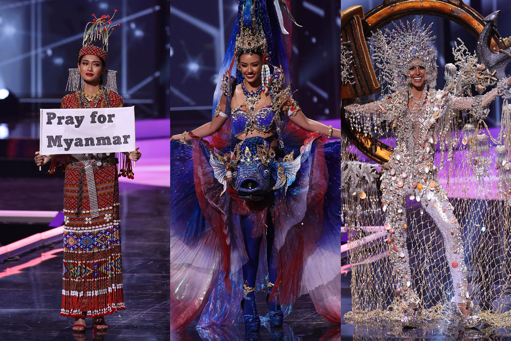 The Best, Worst, and Most Glam Looks We Saw At The 2021 Miss Universe National Costume Show
