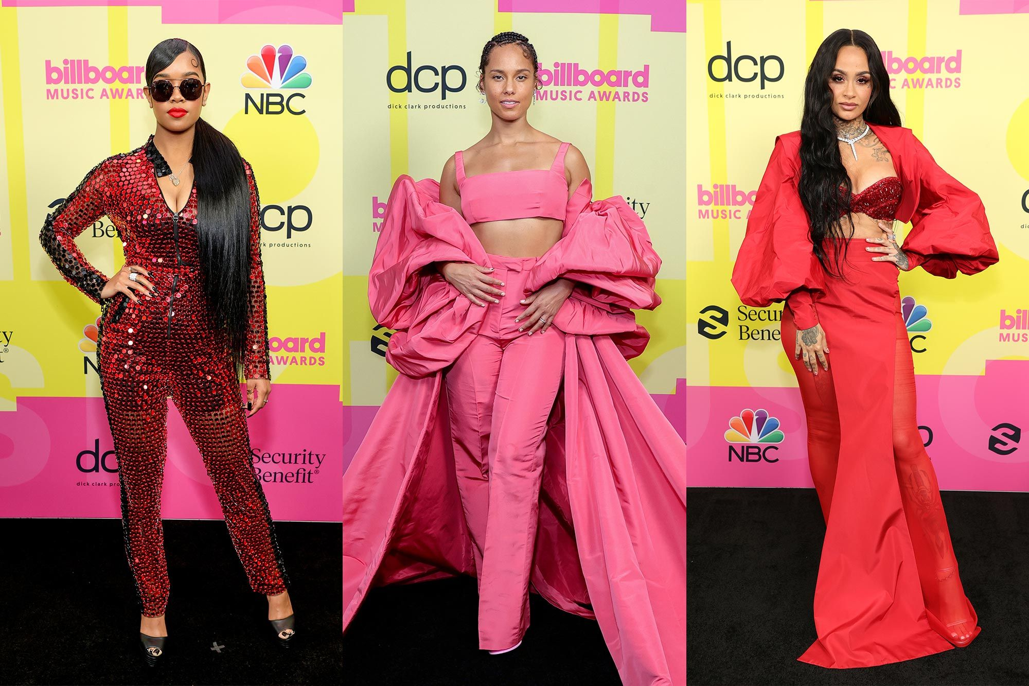 The Best Red Carpet Looks at the Billboard Music Awards 2021