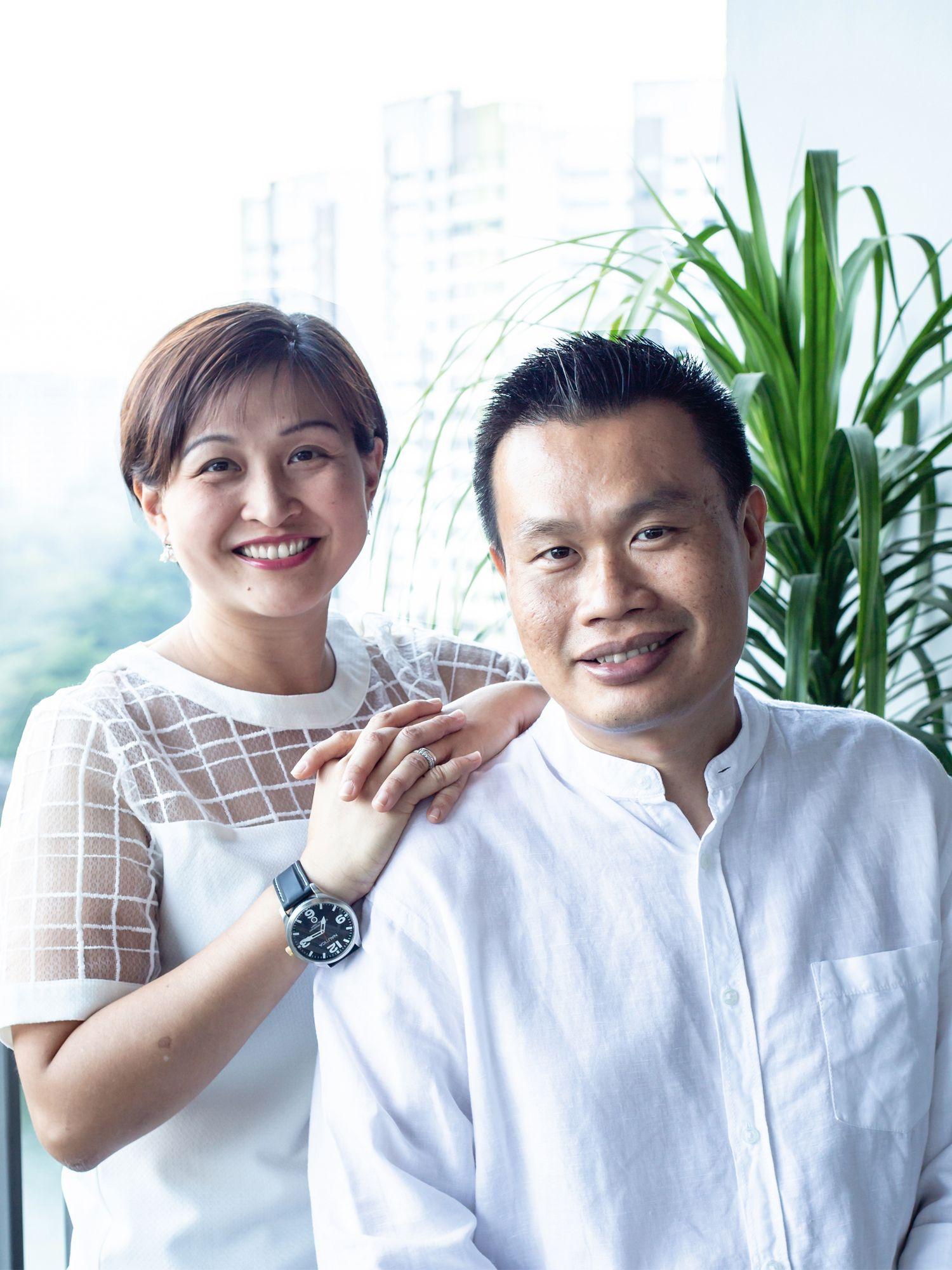 Les fondateurs de HYID Elsie Chin et David How