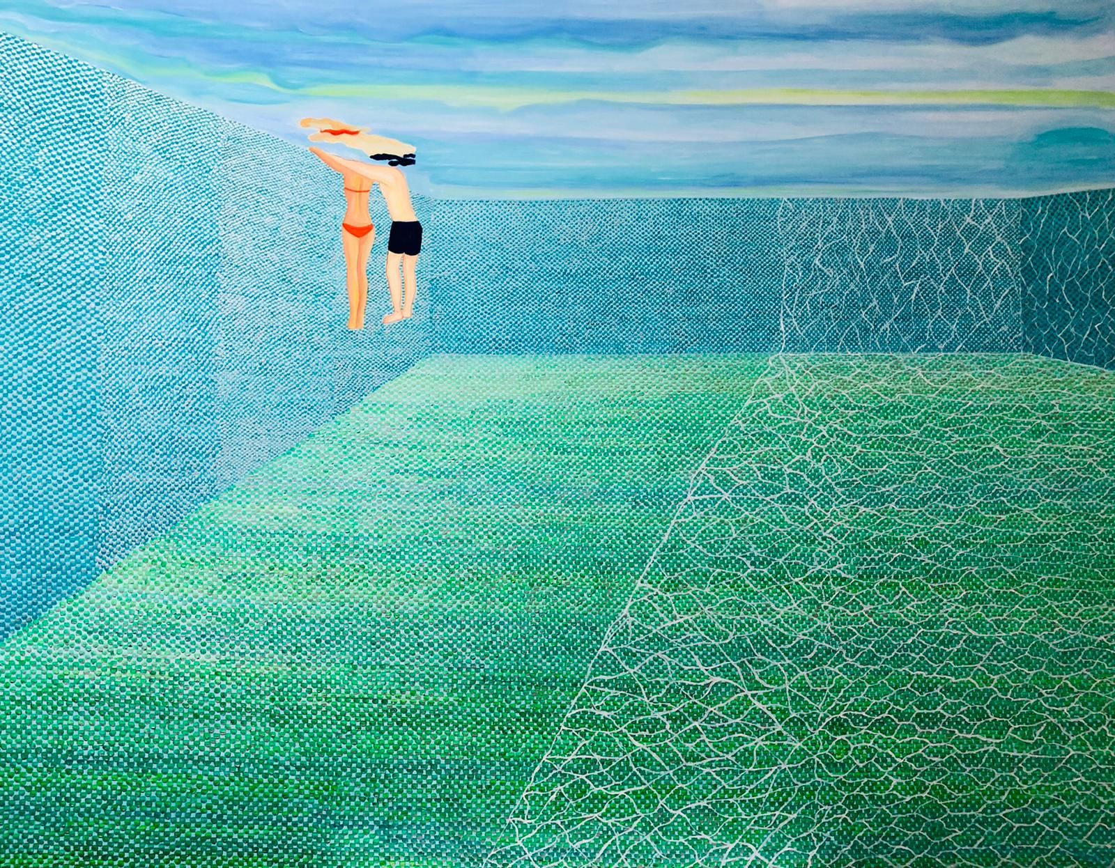 Unis-Vert – Universe (2020) by Aude Gooly