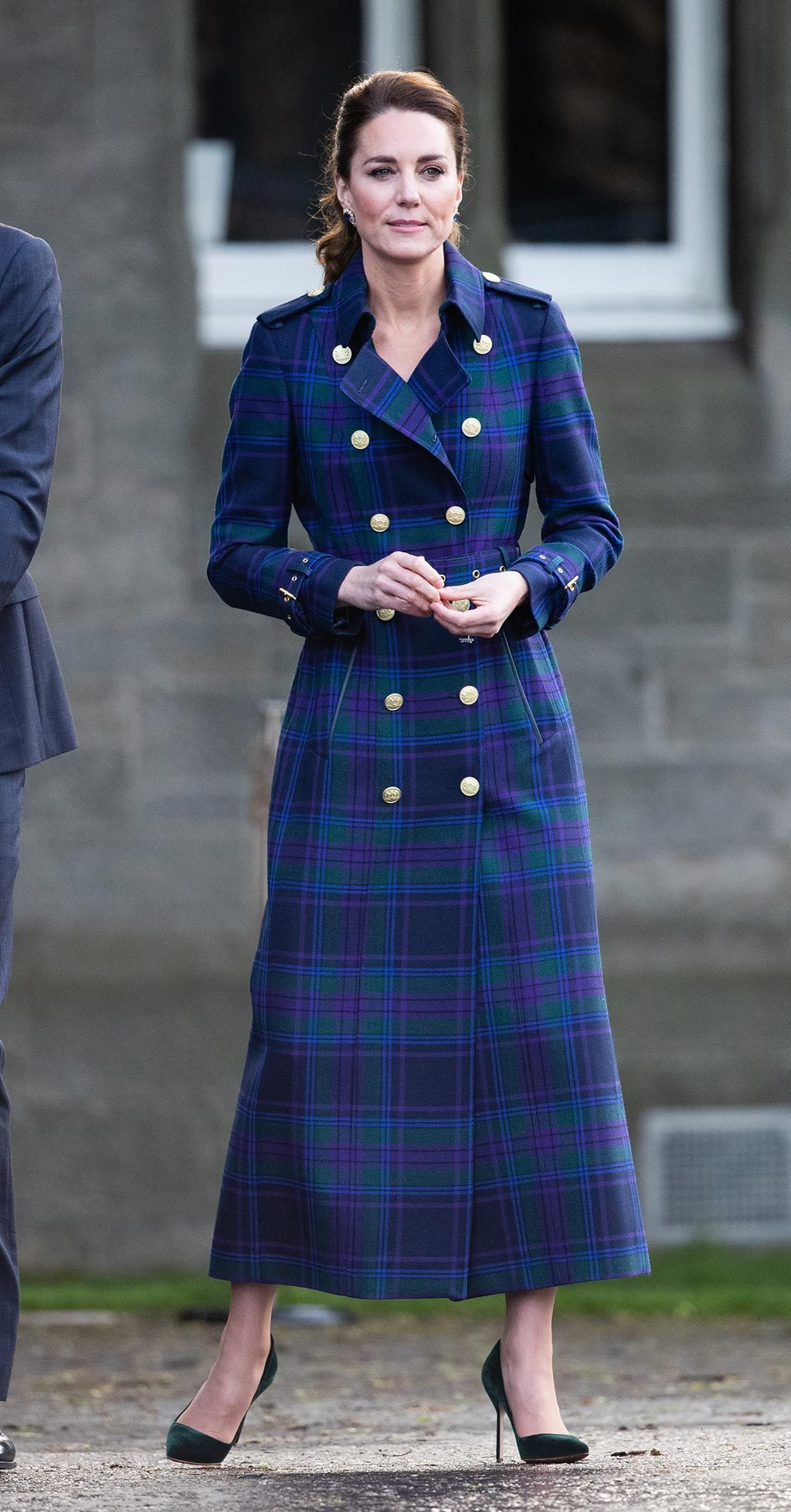 Catherine, Duchess of Cambridge arrives to host NHS Charities Together and NHS staff at a unique drive-in cinema to watch a special screening of Disney's Cruella at the Palace of Holyroodhouse on day six of their week-long visit to Scotland on May 26, 2021 in Edinburgh, Scotland. Photo: Getty Images