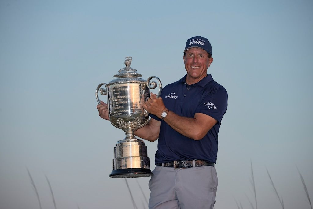 A Look at PGA Championship 2021 Winner Phil Mickelson's Glorious Career