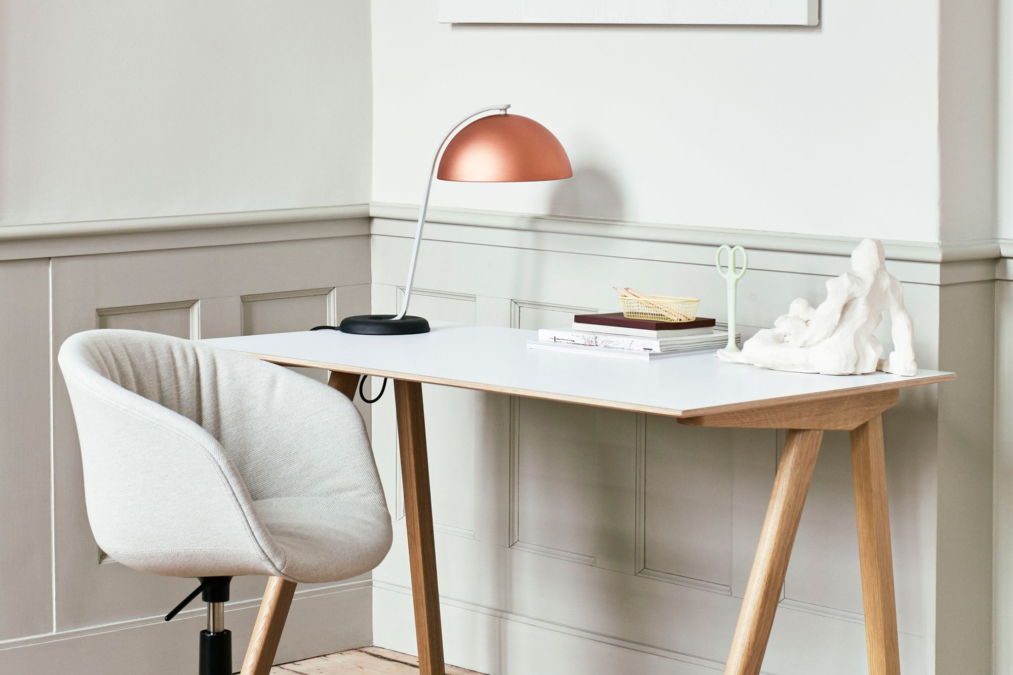 Hay Cloche table lamp by Lars Beller Fjetland Photo: Courtesy of Hay