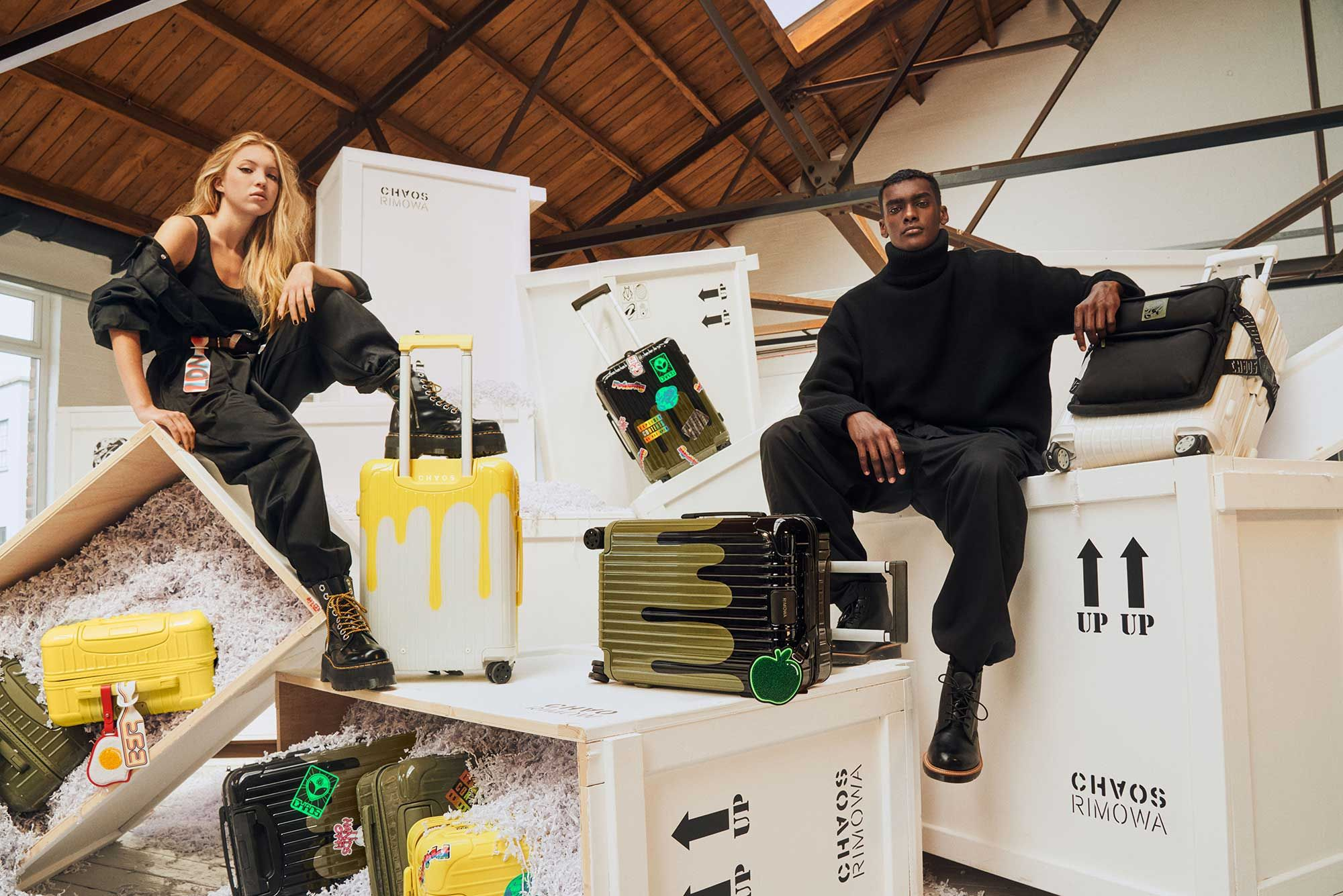 Rimowa x Chaos: The Most Stylish Luggage We'll All Be Using Once Travel Resumes