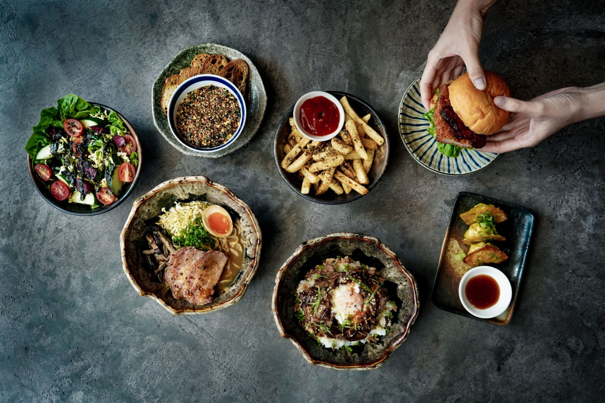 COOP's collection of casual Japanese fare