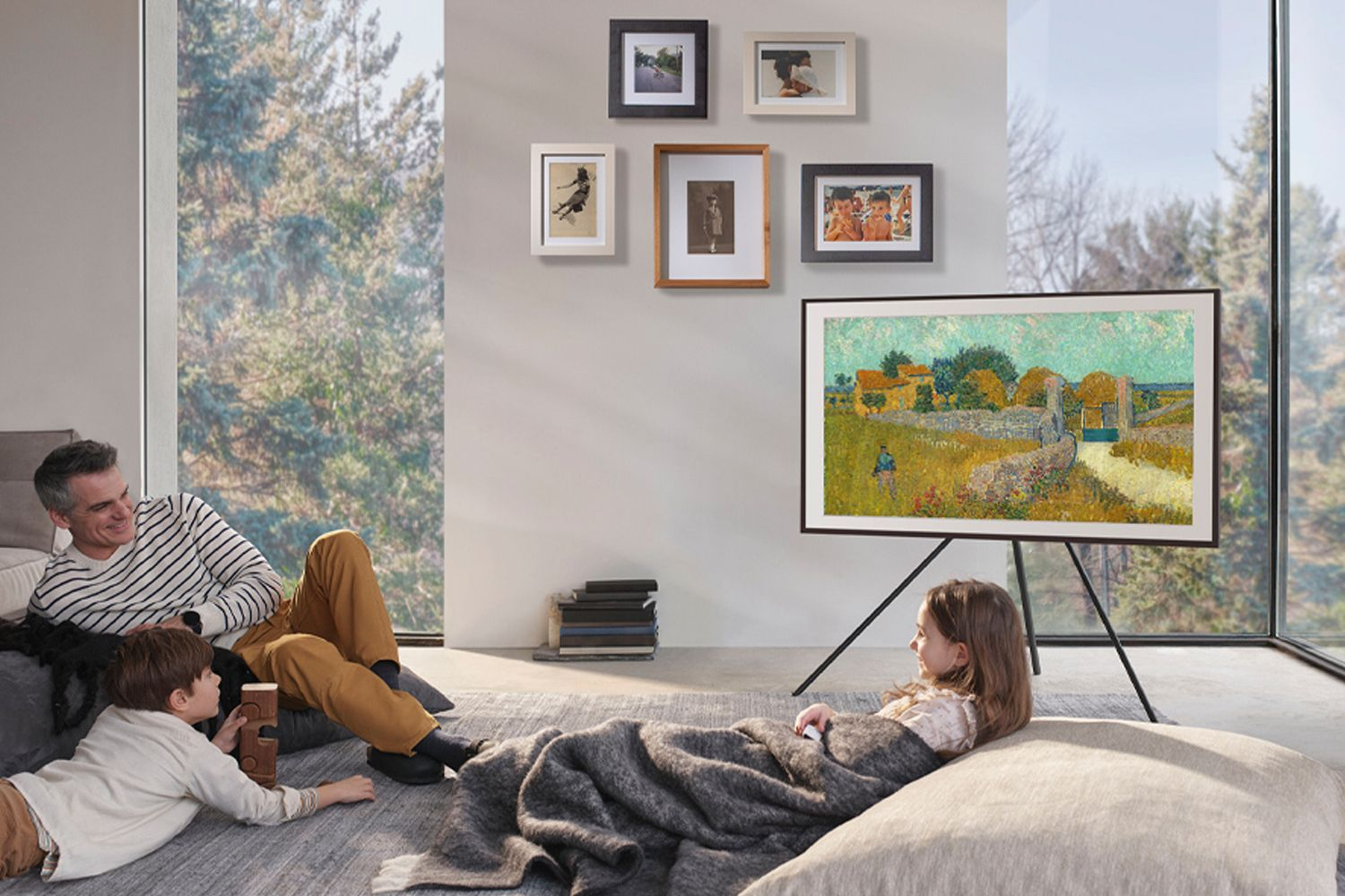 Samsung's The Frame TV will add a stylish touch to homes Image: Courtesy of Samsung