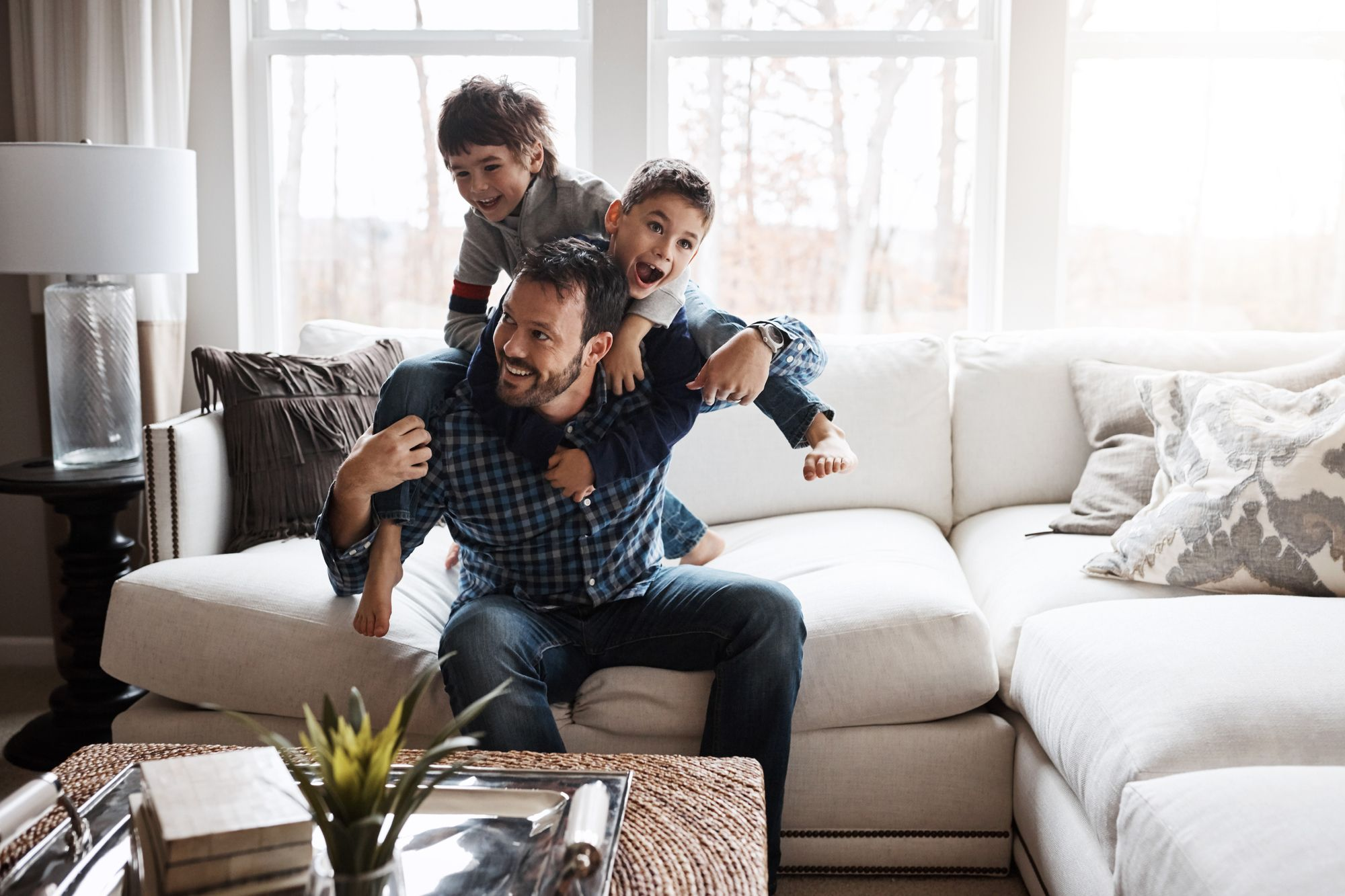 Celebrate dad with some quality bonding time on Father's Day Photography: gradyreese via Getty Images