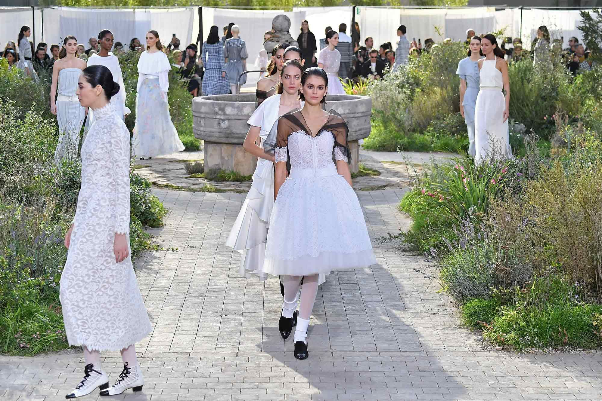 What's This We Hear About Physical Fashion Shows Returning to Paris Couture Week?