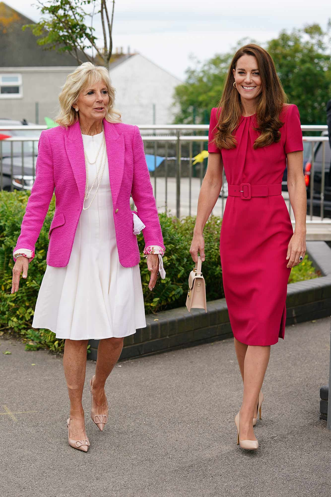Inside Kate Middleton and Dr. Jill Biden's Meaningful Meeting