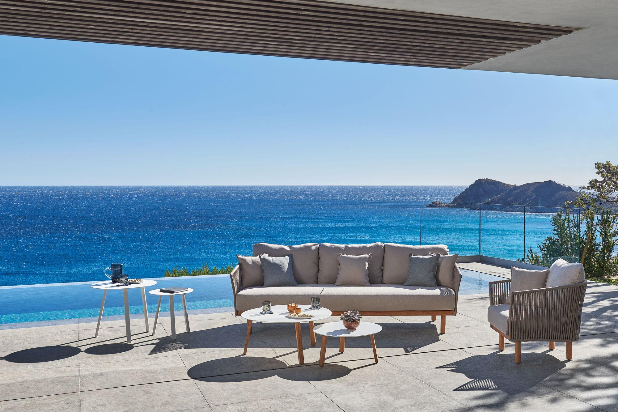 Diphano Newport outdoor sofa, from Danish Design Co