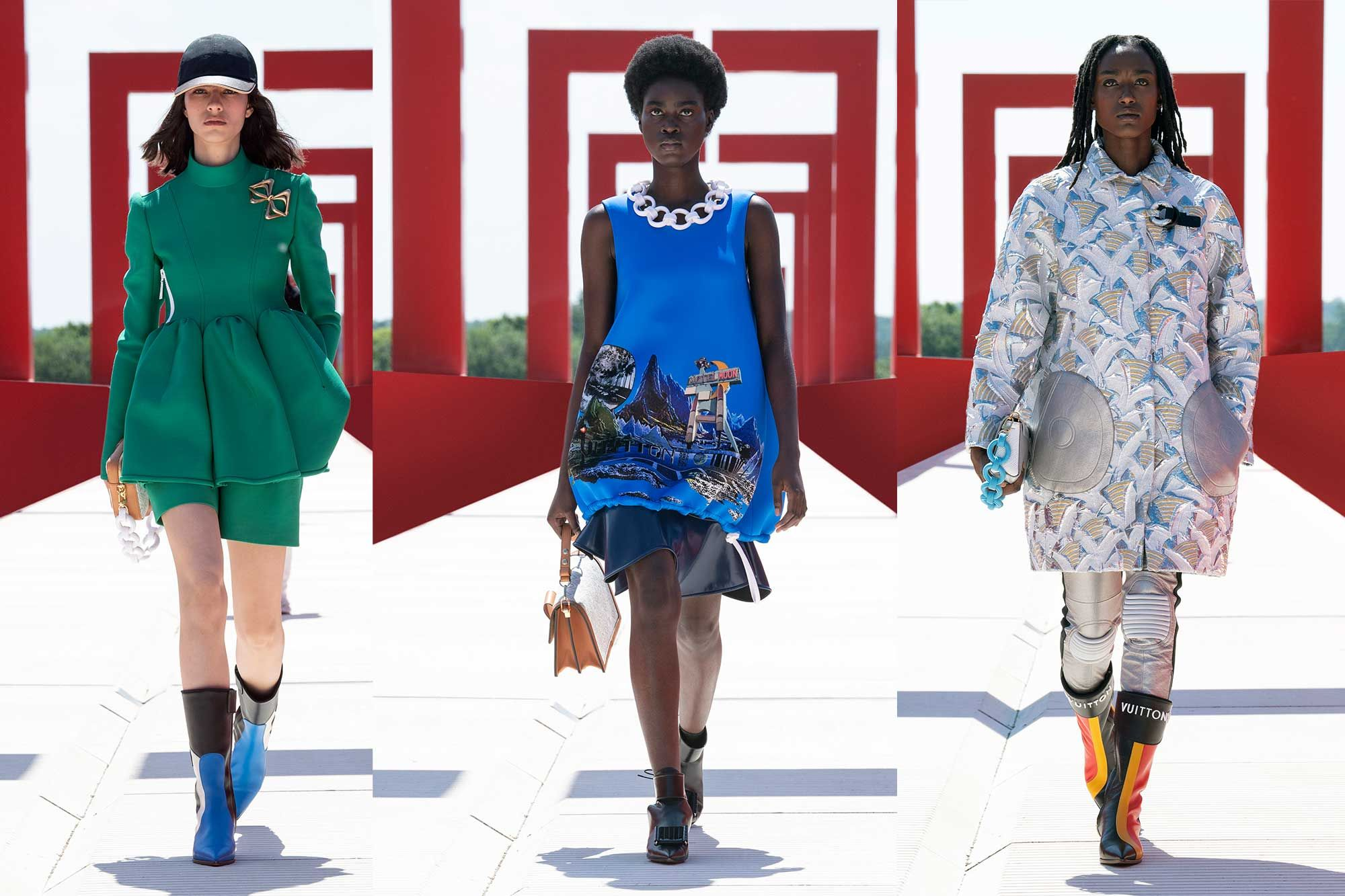 Louis Vuitton's Futuristic Cruise 2022: 5 Things To Know About The Show