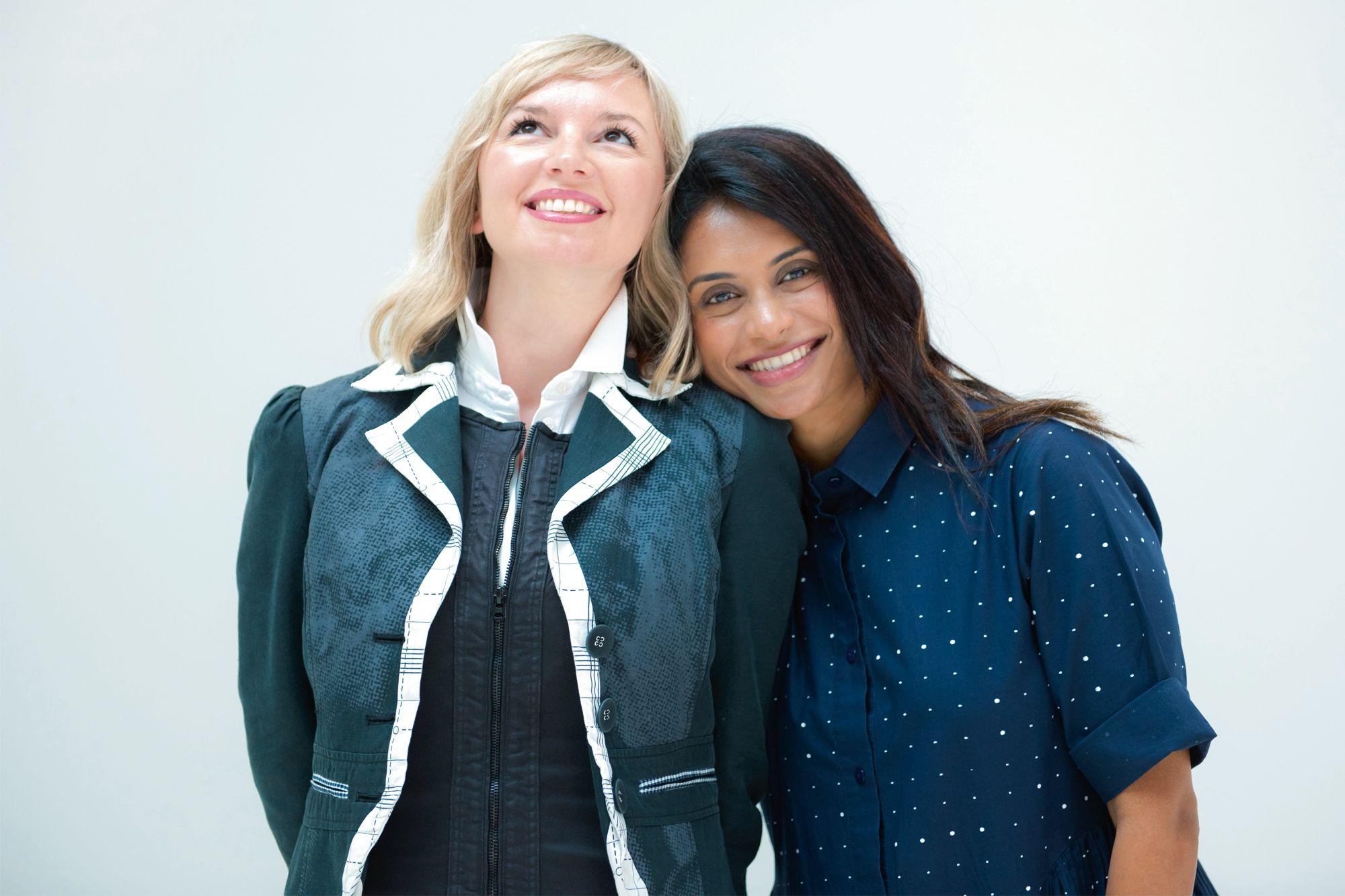 Valentina Doncevic et Jyotsna Lakhamraju du cabinet de conseil en design d'intérieur Valternative