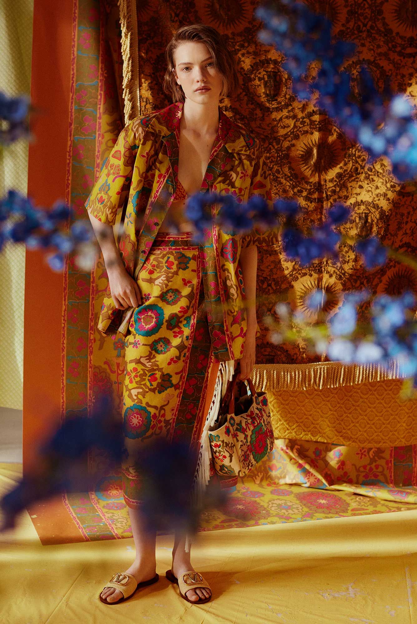 Valentino's Summer Collection Celebrates The Swinging Sixties