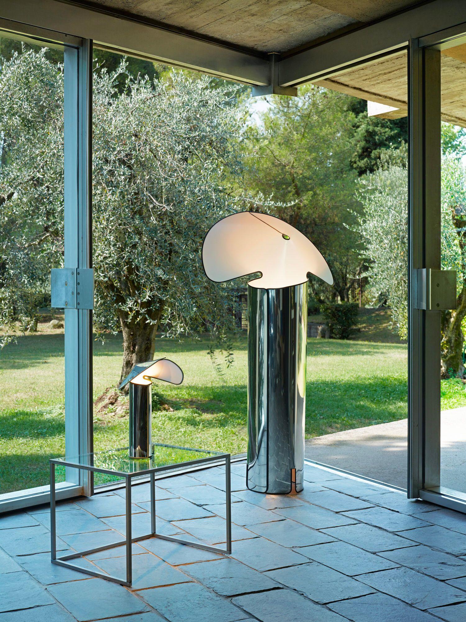 Una ristampa della lampada Sierra di Floss contiene una versione piccola lampada da tavolo: Immagine: courtesy Floss