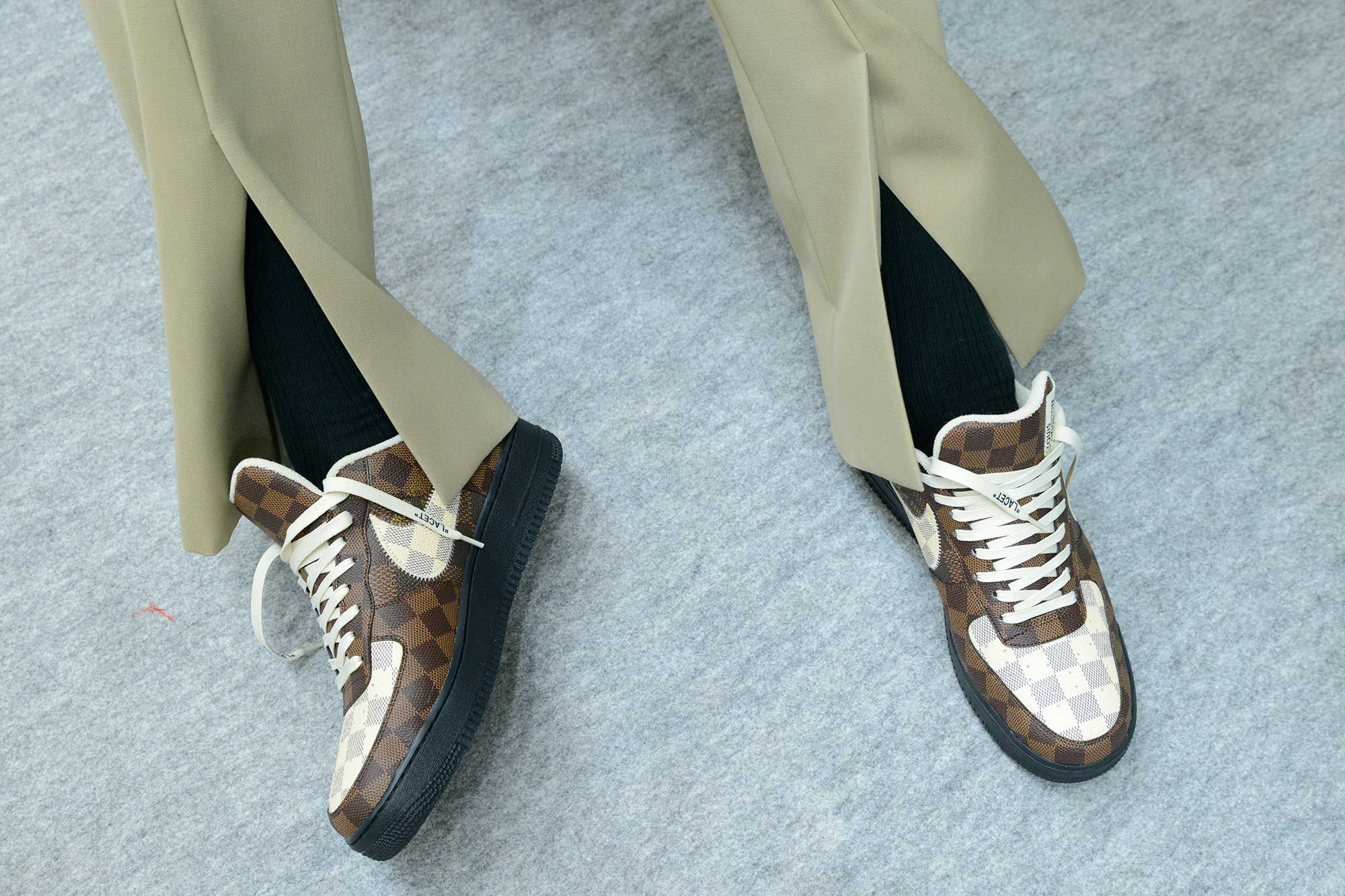Louis Vuitton X Nike Air Force 1 Sneakers