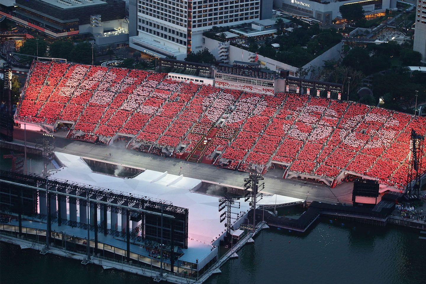 A general view during the National Day Parade. (Photo: Suhaimi Abdullah/Getty Images)