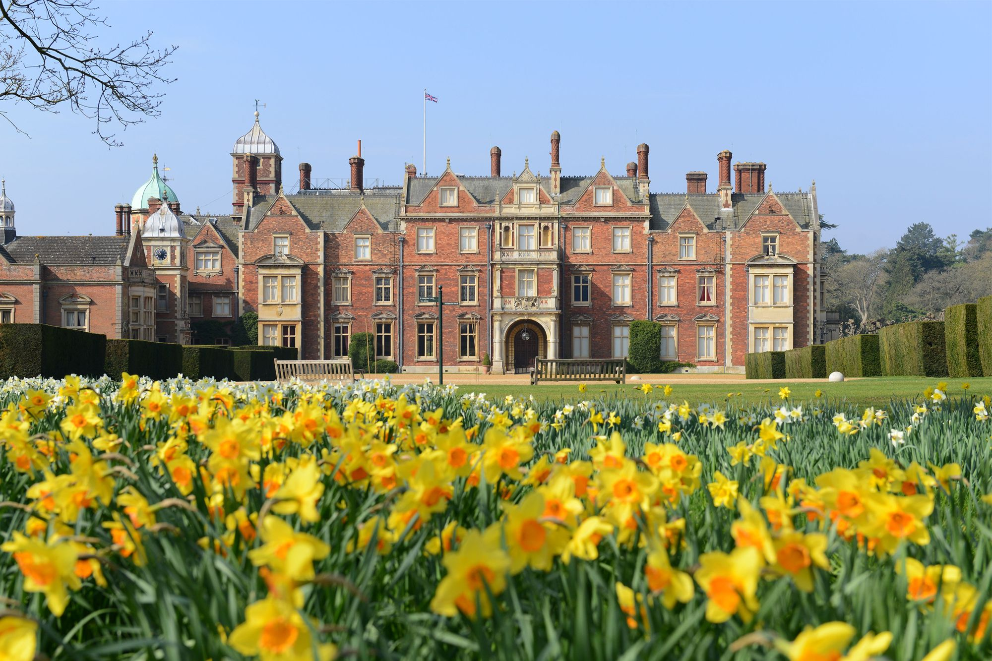 Sandringham Estate is the private property of Queen Elizabeth II Photo: Radcliffe/Bauer-Griffin/Getty Images