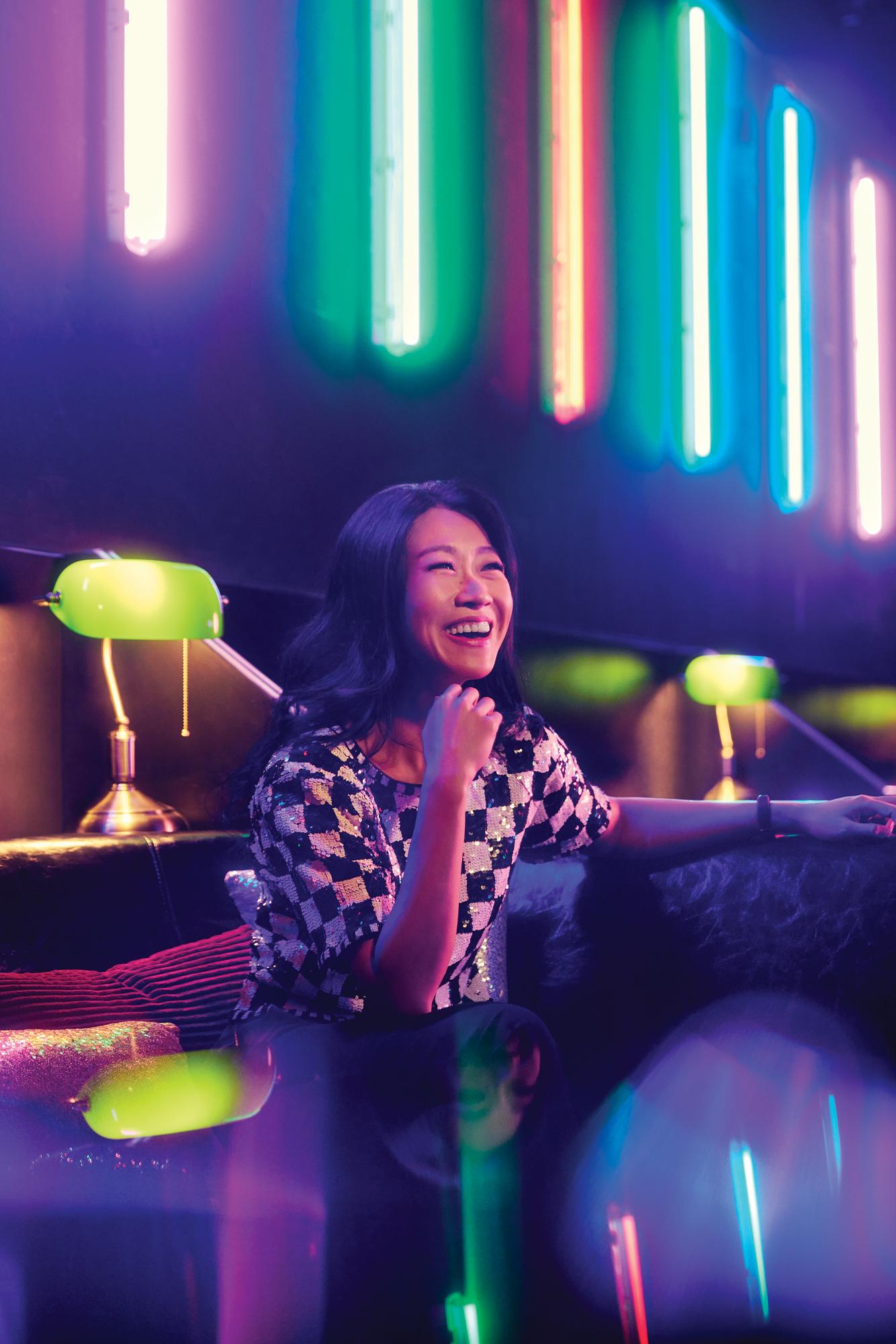 Karen Tan Turns Abandoned Nightclub Into Singapore's First Socially-Distanced Pop-Up Cinema