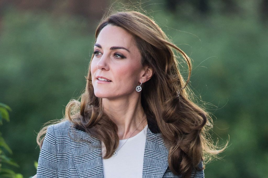 LONDON, ENGLAND - NOVEMBER 12:  Catherine, Duchess of Cambridge attends Shout's Crisis Volunteer celebration event at Troubadour White City Theatre on November 12, 2019 in London, England. (Photo by Samir Hussein/WireImage)