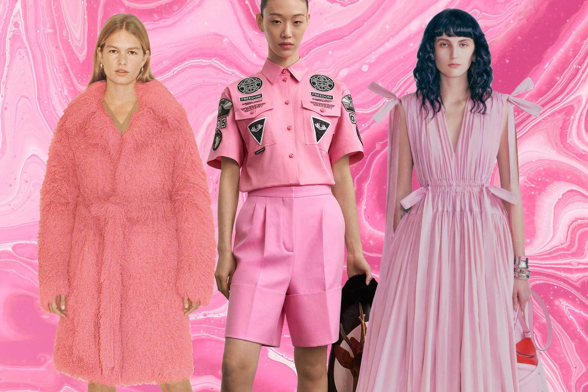 Tatler's Haute List: Power Through Pre-Fall 2021 in Pink