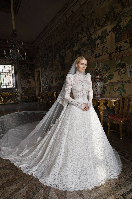 First Look: Lady Kitty Spencer's Dolce & Gabbana Wedding Dress