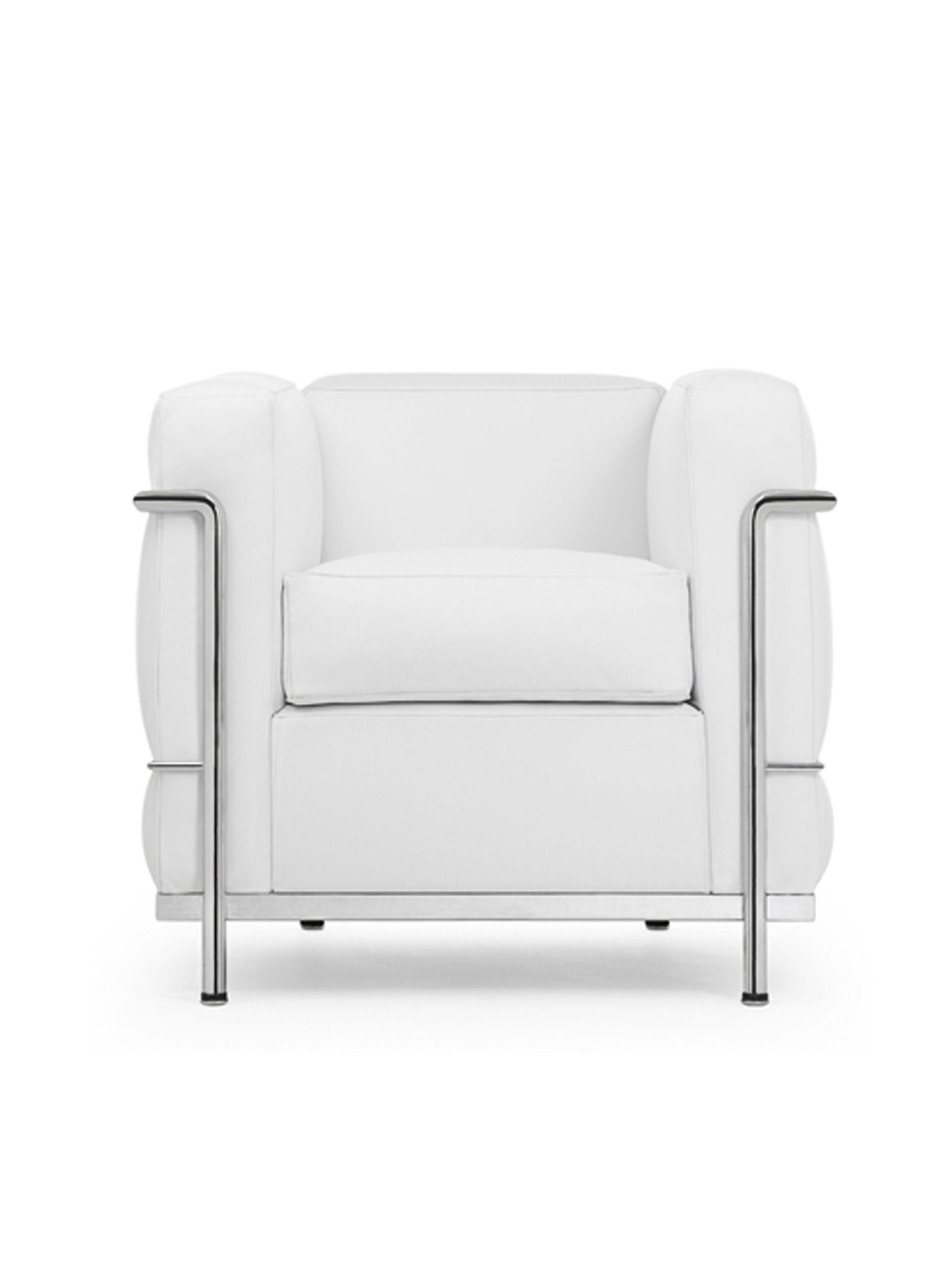 Der LC2-Stuhl ist schmaler im Design, mit hoher Sitzfläche und einer Rückenlehne (Foto: Courtesy of Cassina)