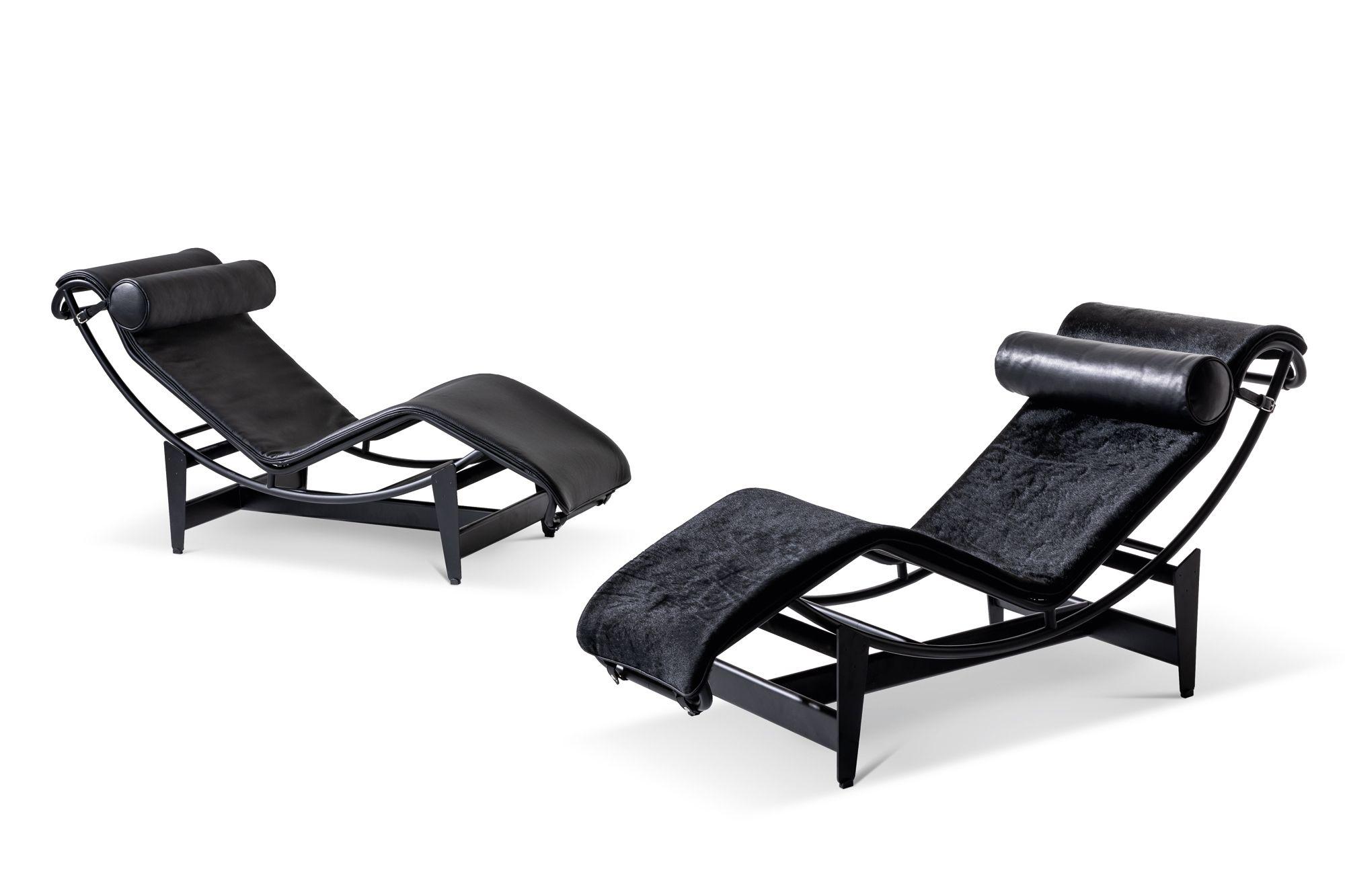 Die Lounge-Sitzmöbel LC4 zeichnen sich durch ein raffiniertes Design mit entspannter Ausstrahlung aus (Foto: Mit freundlicher Genehmigung von Cassina)