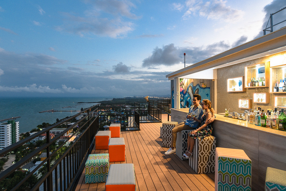Novotel Hua Hin's Latest Gravity Sky Bar Is a Haven For Street Art Lovers